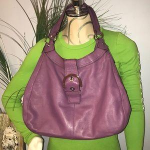 👜👛 Coach Purple Hobo bag purse 👜👛